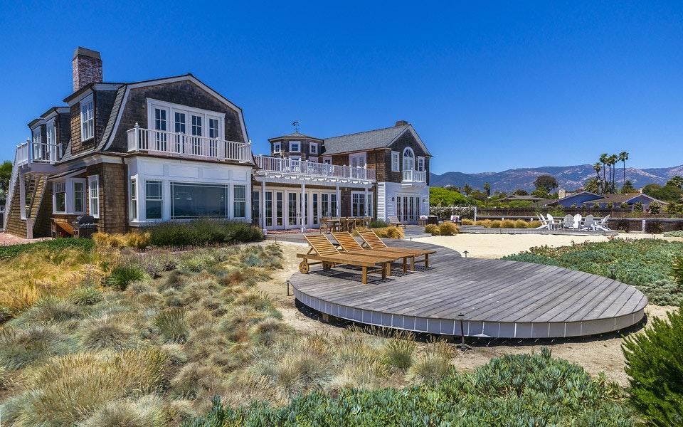 Santa Barbara Luxury Home Rental Santa Barbara Beach Club