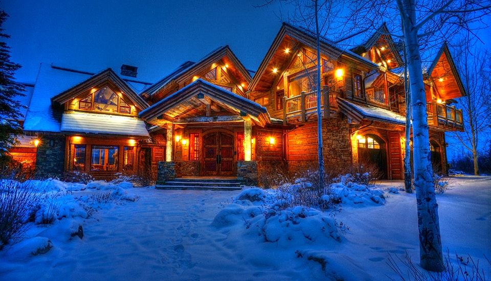 Teton village vacation rental jackson hole wy time place for Cabin rentals in jackson hole wy