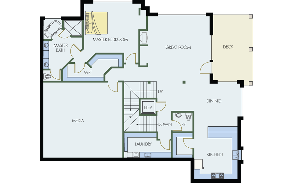 Floorplan-deer-valley-blacktail-lodge-001