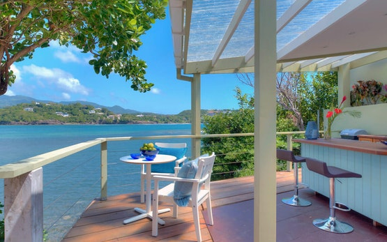 Oceanfront Cliffside Private Pool 1-Bedroom Villa