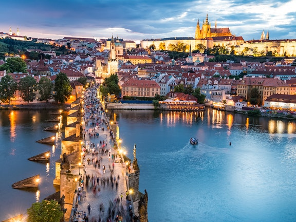 Picturesque Prague
