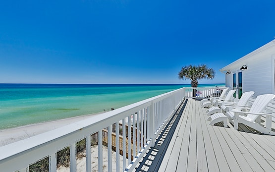 New Listing! The Beach House - Gulf-Front Haven