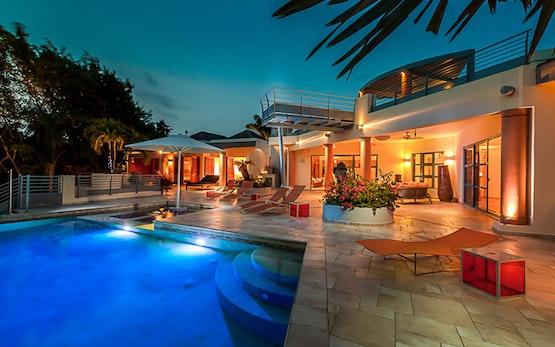 Luxury Vacation Rental Home St Barts Villa Seascape