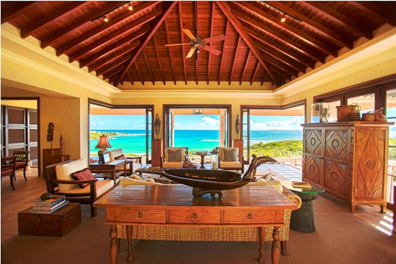 La Credenza Ltd Wimbledon : Luxury vacation rental villa anguilla bird of paradise