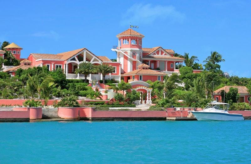 luxury vacation rental villa | turks & caicos | villa mani | time