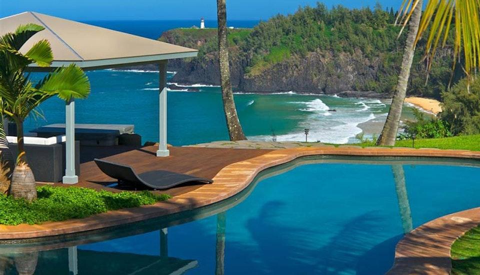 Luxury Vacation Al Villa Kauai Hi The Secret Beach House Time Place