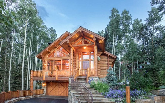 Telluride luxury rentals vacation homes time place for Telluride cabin rental
