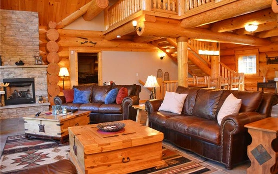 Log Cabin Luxury