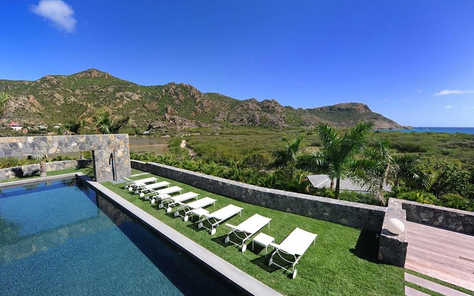 luxury vacation rental villa | st. barts | les dunes | time & place